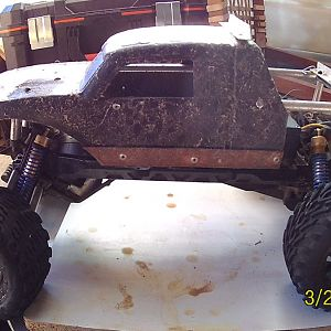 Raised and modified Ruckus body