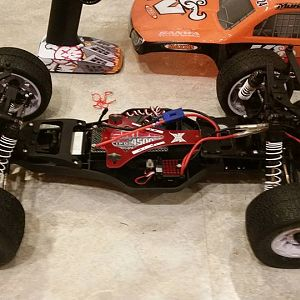 The LCG chassis